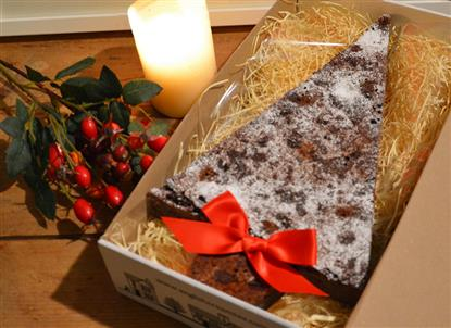Picture of Giant Xmas Tree Chocolate Brownie
