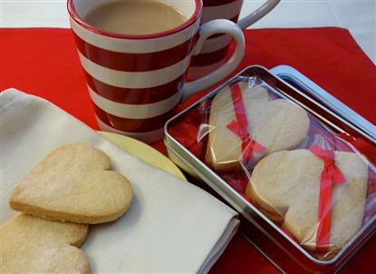 Picture of Shortbread Love Hearts