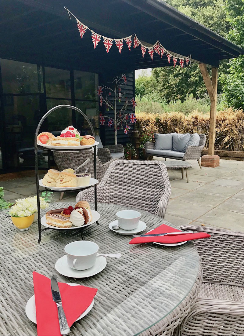 Picture of Platinum Jubilee Sparkling Afternoon Tea at The Secret Sconery - Sat 4th June 2022