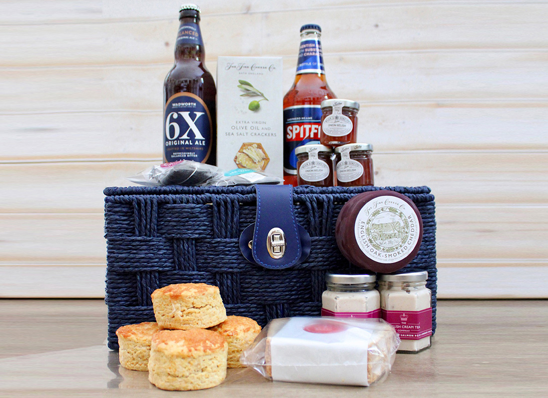 Picture of Savoury Hamper Gift from www.englishcreamtea.com
