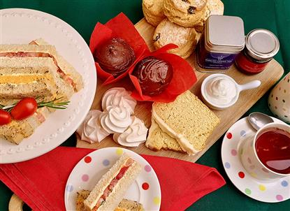 Vegan hamper photo, The English Cream Tea Co, delivered to  you
