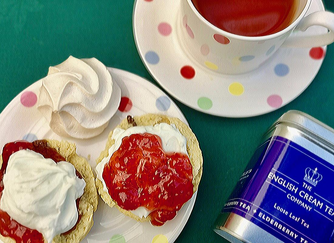 Vegan Cream Tea, The English Cream Tea Co, delivered