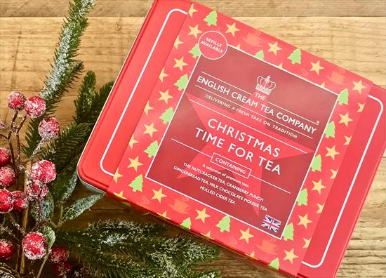 Picture of Christmas Time for Tea Gift Tin