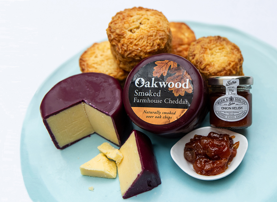 Picture of Cheese and Wine Deluxe hamper