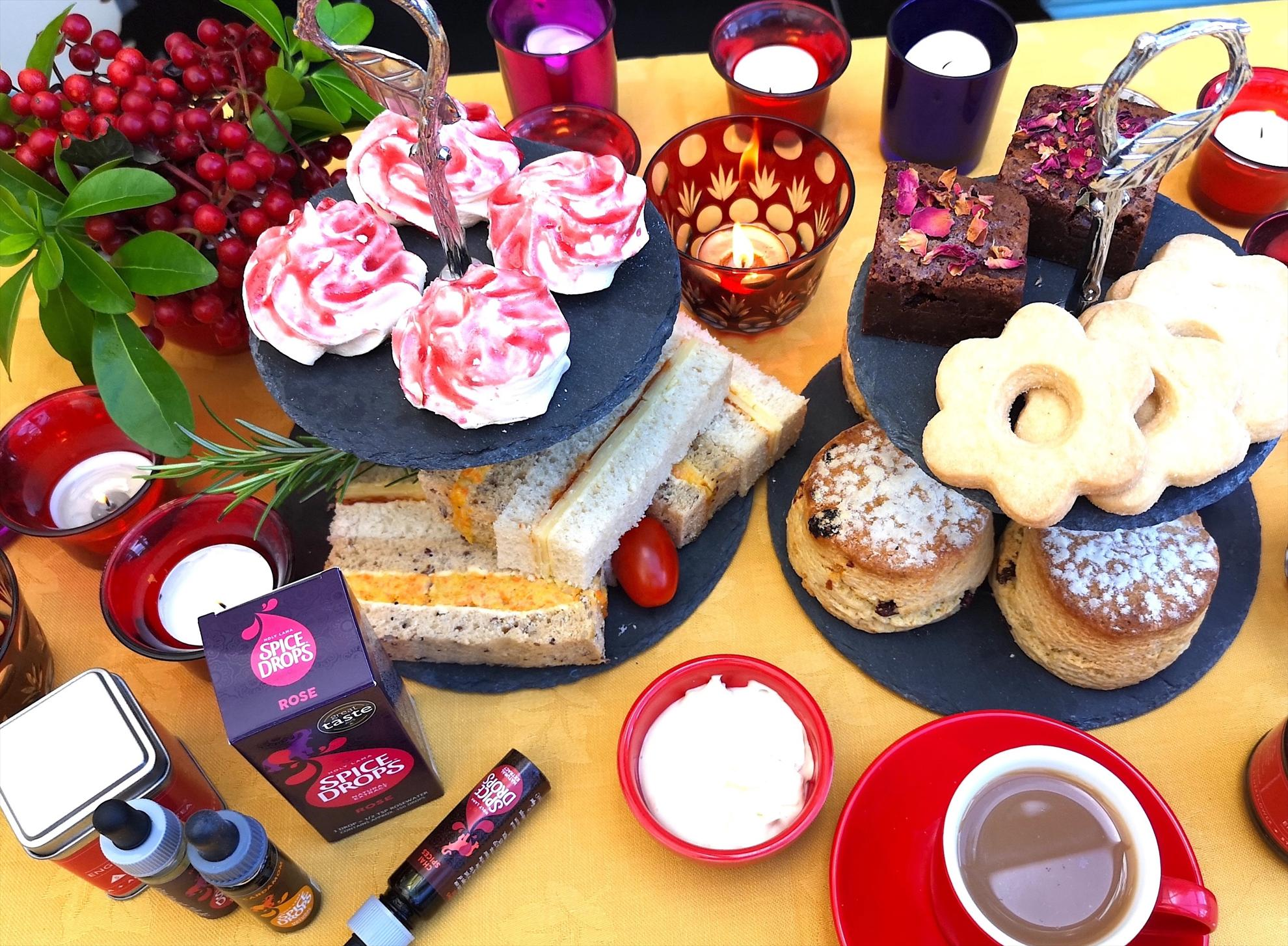 Diwali Inspired afternoon tea with Holy Lama