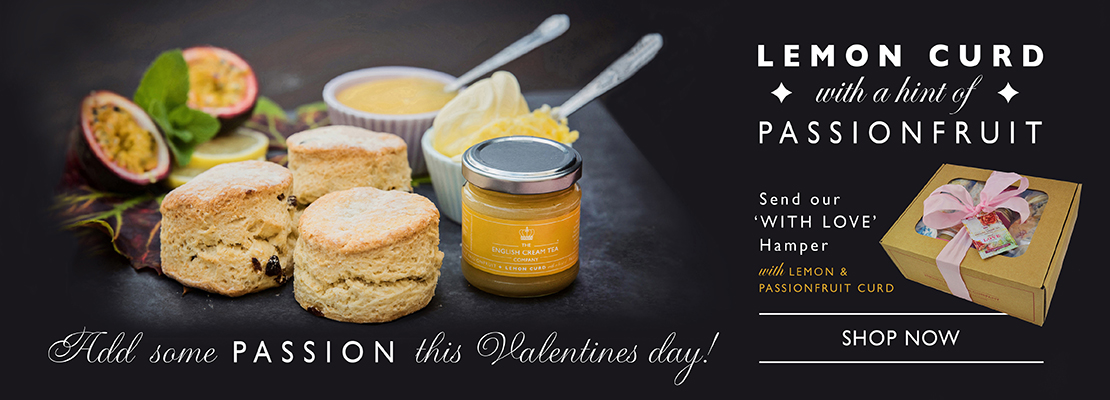 Lemon & Passionfruit Curd in Valentine's With Love Hamper